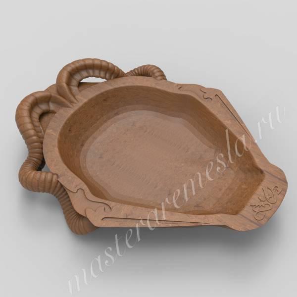 Посуда Казахстана - Блюдо 2