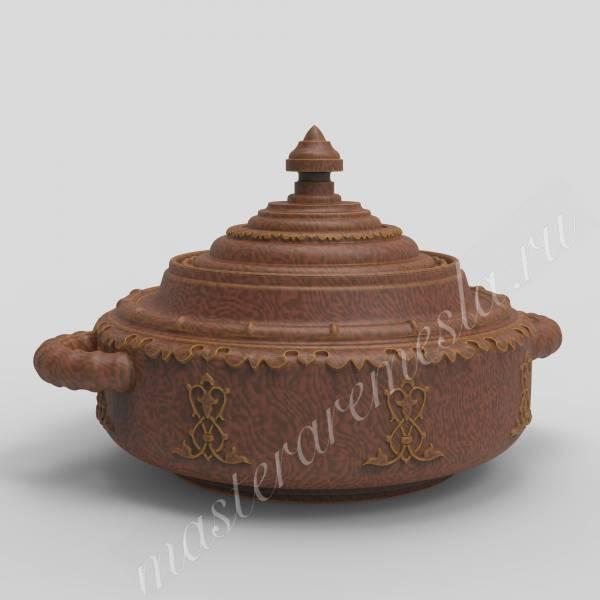 Посуда Казахстана - Тагеш для кумыса 1