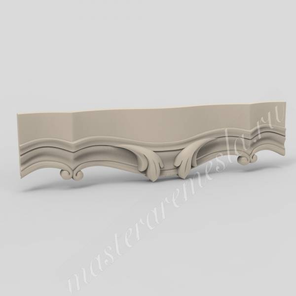3D ЧПУ модель Царга резная 5