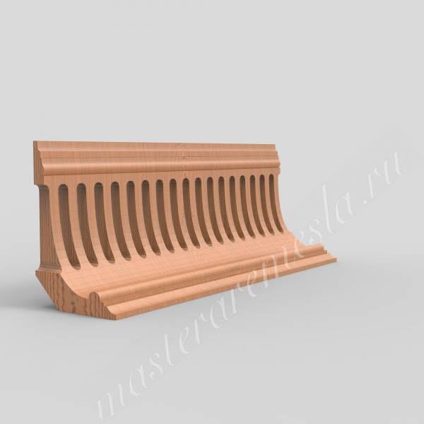 3D ЧПУ модель Карниз