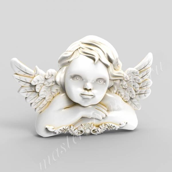 Купить 3D модель Ангел гравюра