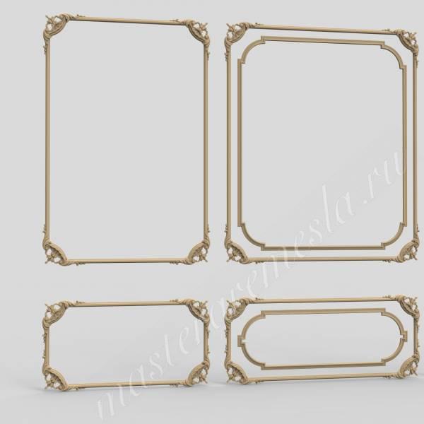 Фикс прайс модель Декоративное зеркало 10