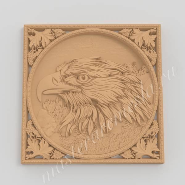 3D  модель Орёл