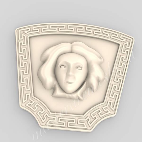 3D модель для ЧПУ  Декор