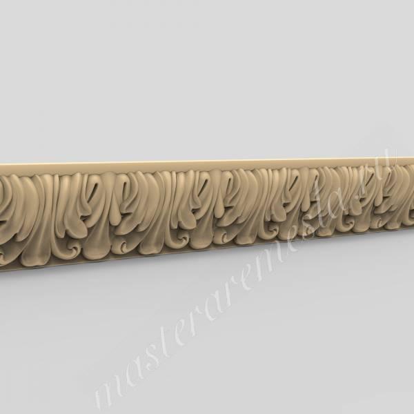 3D модель для станка с ЧПУ  Багет 58