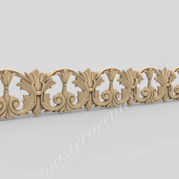 3D модель Багет 64