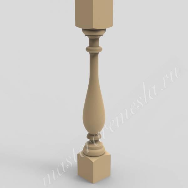 3D модель для станка с ЧПУ  Балясина