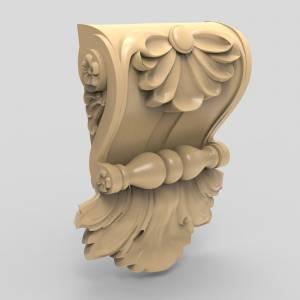 Лучшие 3D модели  для вашего творчества в категории Кронштейны.