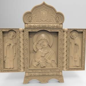 Модели для ЧПУ станков для вашего творчества в категории Религия.