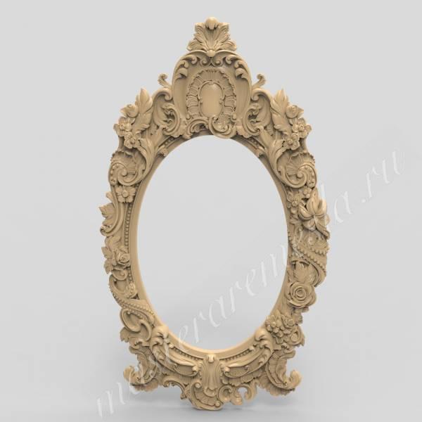 Обрамление для зеркала 3