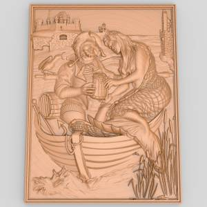Рыбак и русалка