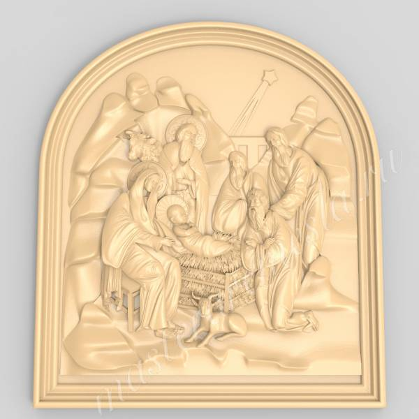"""""""Рождение Христа"""" Панно в обрамлении"""
